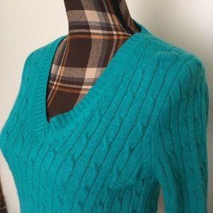 Angora and Wool Sweater